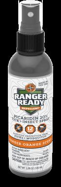 Ranger Ready Repellents Ranger Orange 3.4oz Travel Size